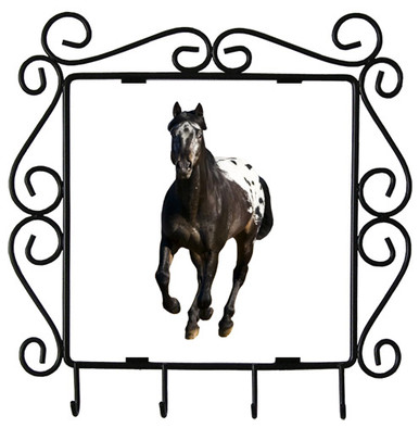 Appaloosa Metal Key Holder