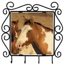 Horse Metal Key Holder