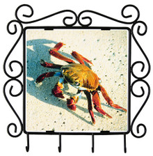 Crab Metal Key Holder