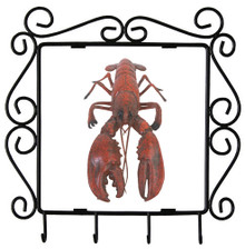 Lobster Metal Key Holder