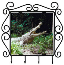 Crocodile Metal Key Holder