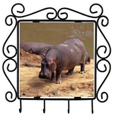 Hippo Metal Key Holder