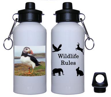Atlantic Puffin Aluminum Water Bottle