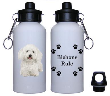Bichon Aluminum Water Bottle