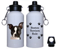 Boston Terrier Aluminum Water Bottle