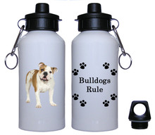 Bulldog Aluminum Water Bottle