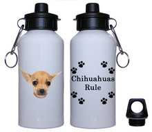 Chihuahua Aluminum Water Bottle
