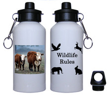 Cow Aluminum Water Bottle