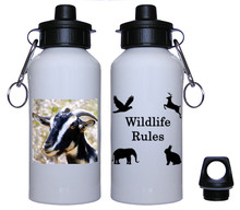 Goat Aluminum Water Bottle