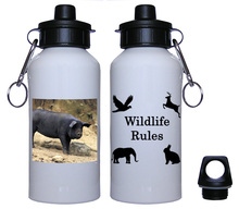 Pig Aluminum Water Bottle