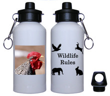 Rooster Aluminum Water Bottle