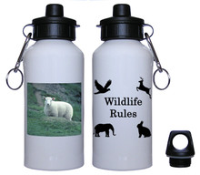 Sheep Aluminum Water Bottle