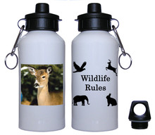 Deer Aluminum Water Bottle