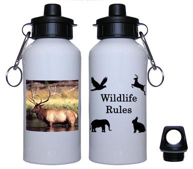 Elk Aluminum Water Bottle