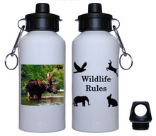 Moose Aluminum Water Bottle