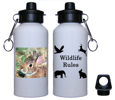Rabbit Aluminum Water Bottle