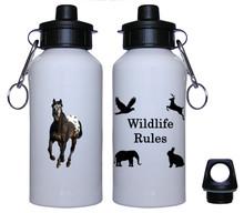 Appaloosa Aluminum Water Bottle