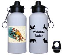 Crab Aluminum Water Bottle