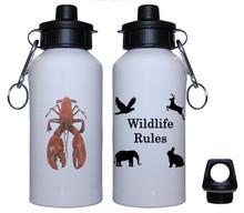 Lobster Aluminum Water Bottle