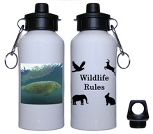 Manatee Aluminum Water Bottle