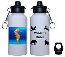 Seahorse Aluminum Water Bottle