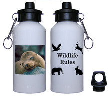 Sea Lion Aluminum Water Bottle