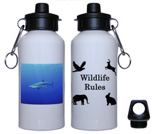 Shark Aluminum Water Bottle