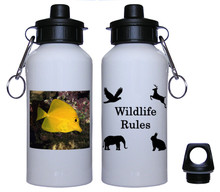 Yellow Tang Aluminum Water Bottle