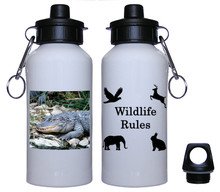 Alligator Aluminum Water Bottle