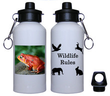 Tomato Frog Aluminum Water Bottle