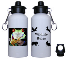 Tree Frog Aluminum Water Bottle