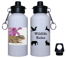 Gecko Aluminum Water Bottle