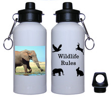 Elephant Aluminum Water Bottle