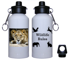 Lion Aluminum Water Bottle