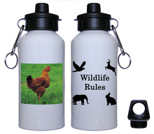 Chicken Aluminum Water Bottle