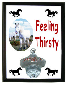 Camargue Feeling Thirsty Bottle Opener Plaque