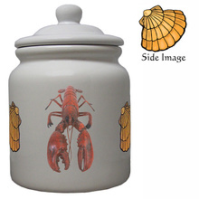 Lobster Ceramic Color Cookie Jar