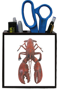 Lobster Wooden Pencil Holder