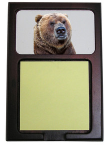Bear Wooden Sticky Note Holder