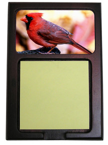 Cardinal Wooden Sticky Note Holder
