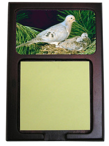 Dove Wooden Sticky Note Holder