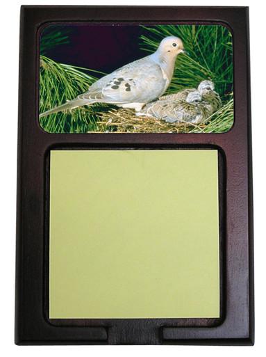 Dove Wooden Sticky Note Holder