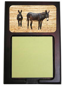 Donkey Wooden Sticky Note Holder