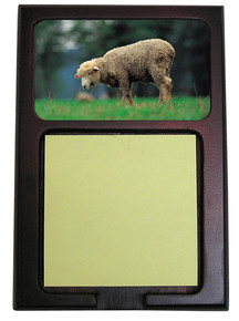 Sheep Wooden Sticky Note Holder