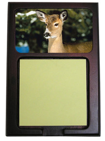 Deer Wooden Sticky Note Holder
