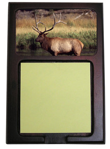 Elk Wooden Sticky Note Holder