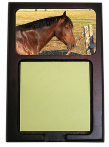 Horse Wooden Sticky Note Holder
