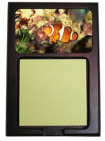 Clownfish Wooden Sticky Note Holder