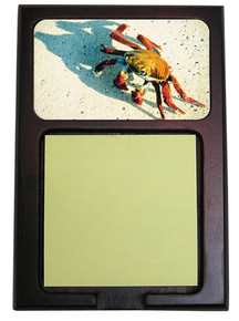 Crab Wooden Sticky Note Holder