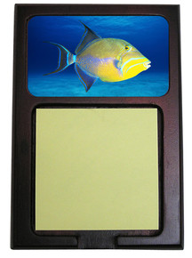 Triggerfish Wooden Sticky Note Holder